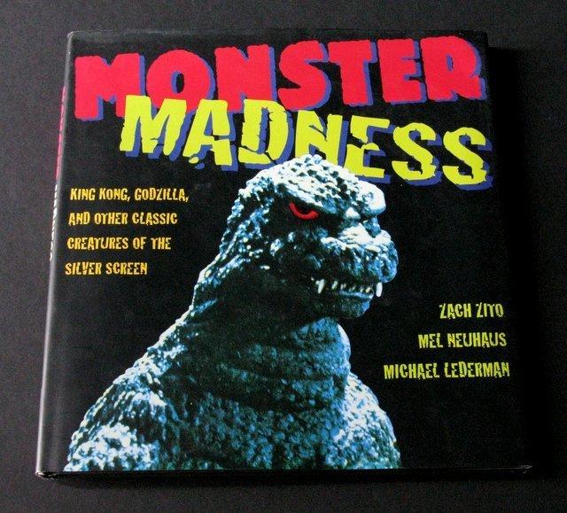 MONSTER MADNESS DELUXE HARDCOVER FILM BOOK - Smithmark