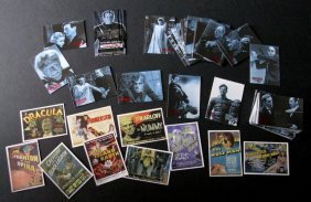 Universal Classic Monsters Movie Cards - Complete Set