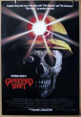 Stephen King's Graveyard Shift - 1990 - One Sheet Movie