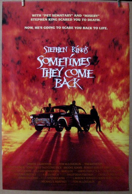 STEPHEN KING'S SOMETIMES THEY COME BACK - 1991 - One