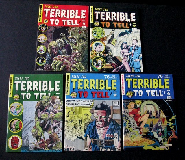 TALES TOO TERRIBLE TO TELL COMICS - ISSUES #1-5 - New