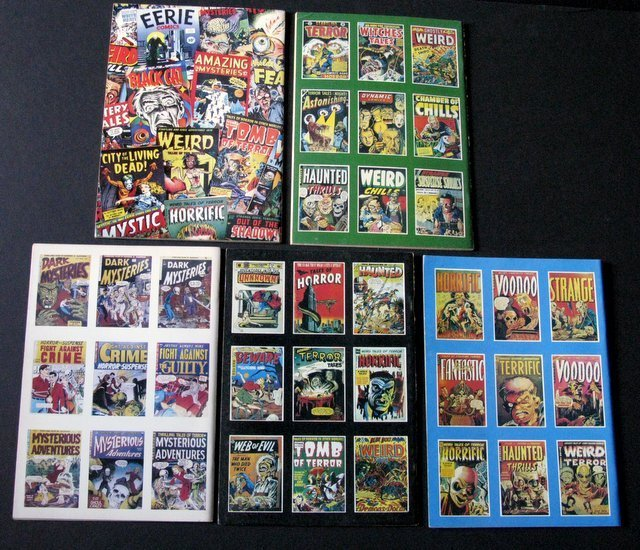 TALES TOO TERRIBLE TO TELL COMICS - ISSUES #1-5 - New - 3