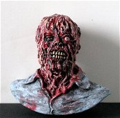 THE INCREDIBLE MELTING MAN RARE PAINTED RESIN PORTRAIT