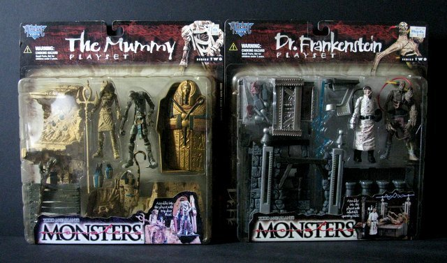 MCFARLANE MONSTERS PLAYSETS - Series #2, Lot of four, - 2