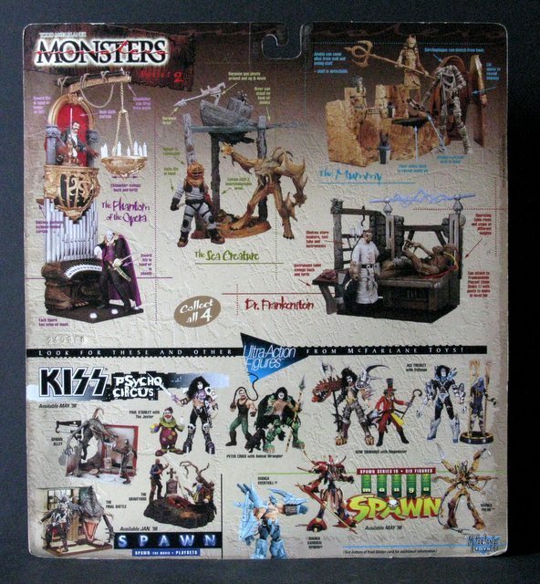 MCFARLANE MONSTERS PLAYSETS - Series #2, Lot of four, - 3