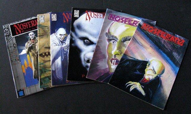 NOSFERATU THE VAMPIRE - COMIC BOOK LOT OF 6 - Tome