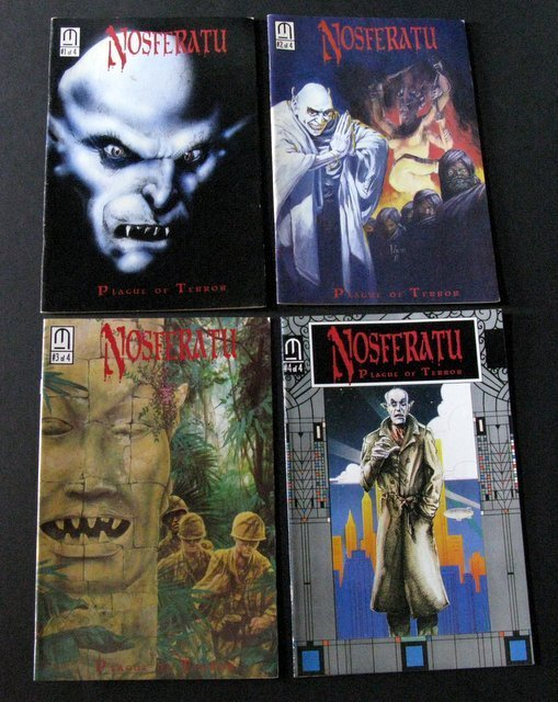 NOSFERATU THE VAMPIRE - COMIC BOOK LOT OF 6 - Tome - 3