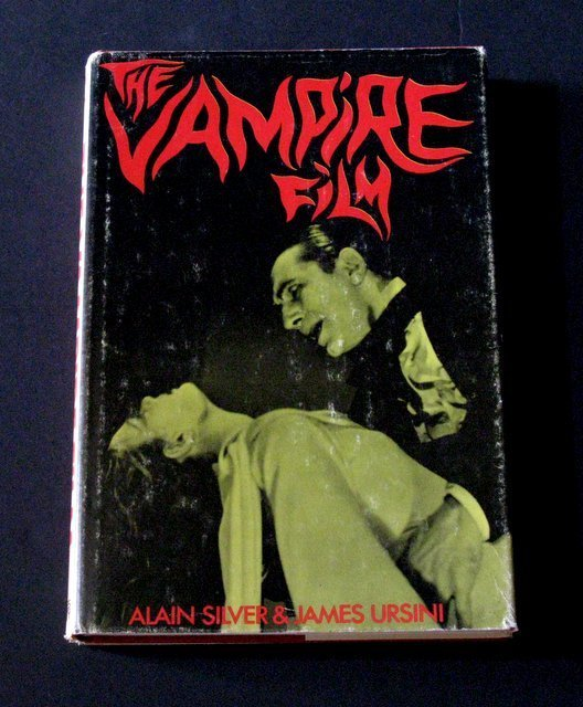 THE VAMPIRE FILM - HARDCOVER BOOK LONG OUT OF PRINT -