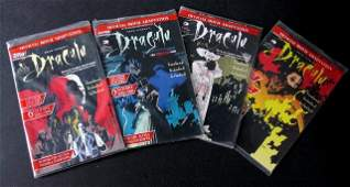 BRAM STOKERS DRACULA COMIC BOOKS OFFICIAL MOVIE
