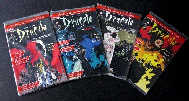 BRAM STOKER'S DRACULA COMIC BOOKS OFFICIAL MOVIE