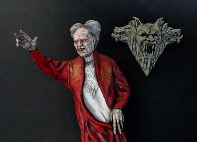 OLD MAN DRACULA - BRAM STOKER'S DRACULA - PRO PAINTED
