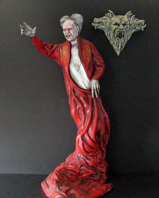 OLD MAN DRACULA - BRAM STOKER'S DRACULA - PRO PAINTED - 2