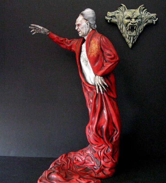 OLD MAN DRACULA - BRAM STOKER'S DRACULA - PRO PAINTED - 3