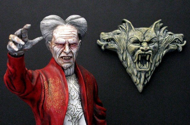 OLD MAN DRACULA - BRAM STOKER'S DRACULA - PRO PAINTED - 4