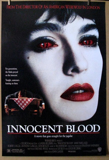 """INNOCENT BLOOD - 1992 - One Sheet Movie Poster - 27""""x"""
