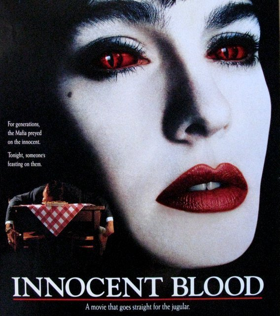 """INNOCENT BLOOD - 1992 - One Sheet Movie Poster - 27""""x - 2"""