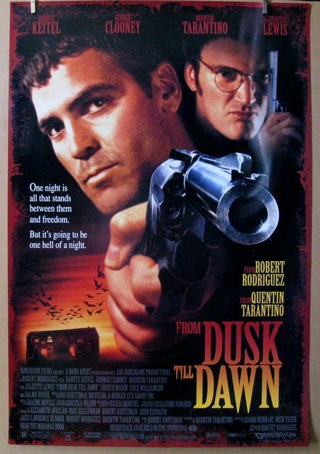 FROM DUSK TILL DAWN - 1995 - One Sheet Movie Poster -
