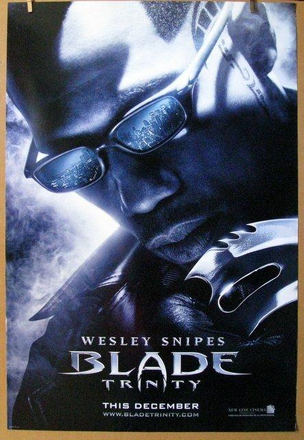 "BLADE TRINITY - 2004 - One Sheet Movie Poster - 27""x"