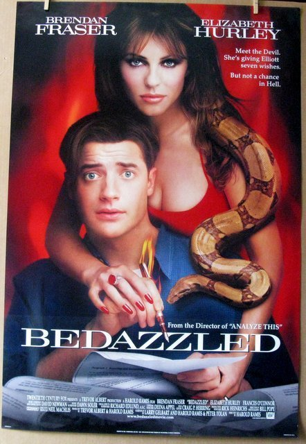 """BEDAZZLED - 2000 - One Sheet Movie Poster - 27""""x 40"""" -"""