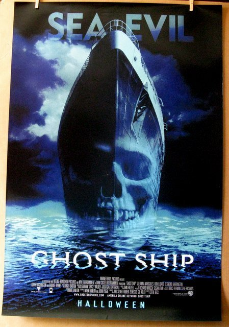 """GHOST SHIP - 2002 - One Sheet Movie Poster - 27""""x 40"""" -"""