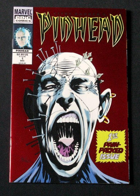 HELLRAISER - PINHEAD COMIC BOOK #1 - Epic Comics, 1993