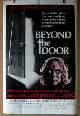 "Beyond The Door - 1974 - One Sheet Movie Poster - 27""x"