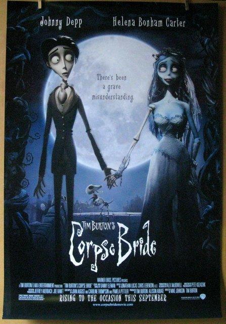 TIM BURTON'S CORPSE BRIDE - 2005 - One Sheet Movie