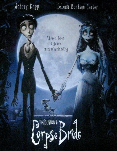 TIM BURTON'S CORPSE BRIDE - 2005 - One Sheet Movie - 2