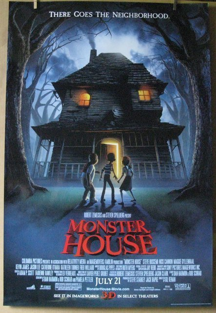 "MONSTER HOUSE - 2006 - One Sheet Movie Poster - 27""x"