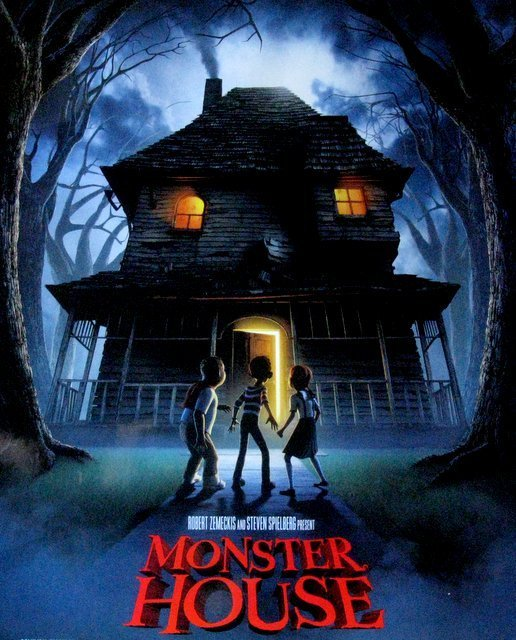 "MONSTER HOUSE - 2006 - One Sheet Movie Poster - 27""x - 2"