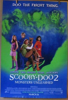 Scooby Doo 2 Monsters Unleashed - 2004 - One Sheet