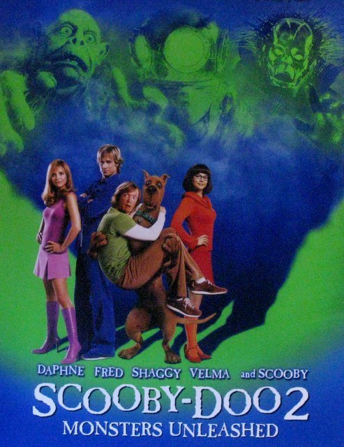 SCOOBY DOO 2 MONSTERS UNLEASHED - 2004 - One Sheet - 2