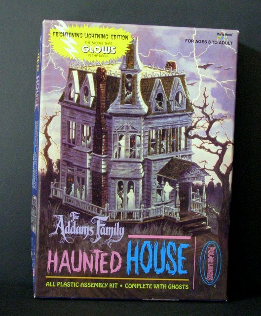 THE ADDAMS FAMILY HAUNTED MANSION - RE-ISSUE OF THE
