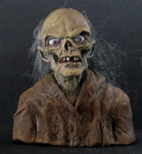 Tales From The Crypt The Cryptkeeper Rare Painted Resin