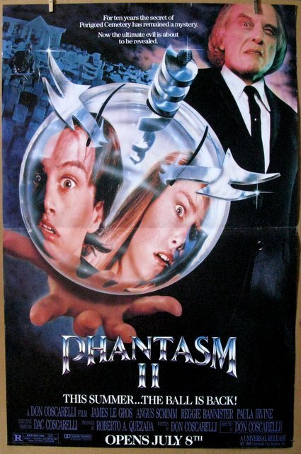 "PHANTASM II - 1988 - Large Movie Poster - 30 ""x 45"""
