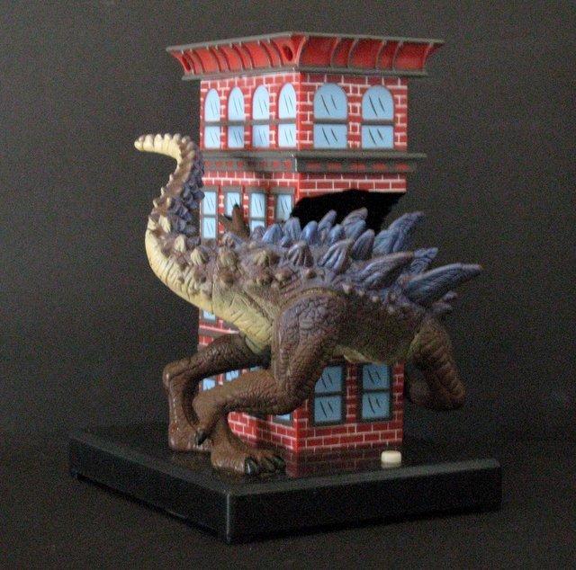 "GODZILLA 7"" GUMBALL BANK - Toy Quest 1998 - Godzilla - 3"