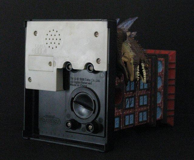 "GODZILLA 7"" GUMBALL BANK - Toy Quest 1998 - Godzilla - 5"