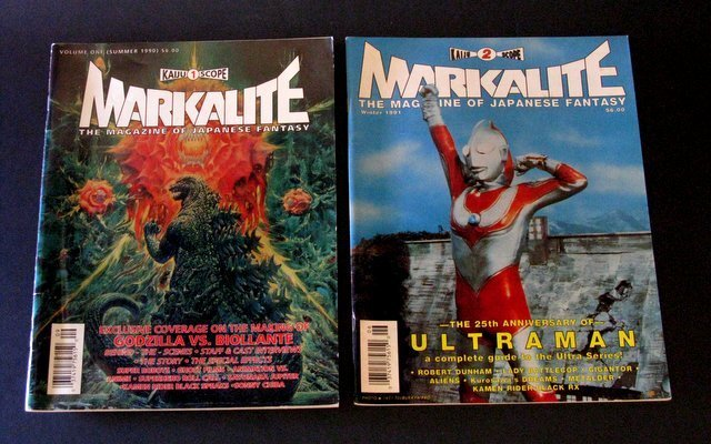 MARKALITE MAGAZINE LOT OF TWO ISSUES #1 & 2 - Pacific