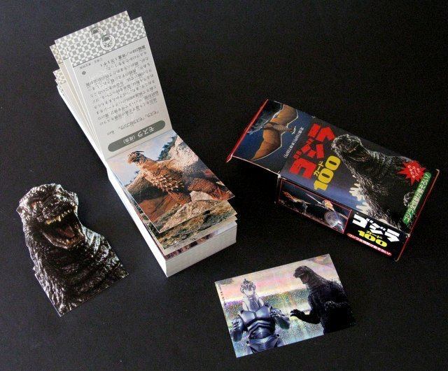 GODZILLA DELUXE BOXED CARD SET FROM JAPAN - 1993 - 100 - 3