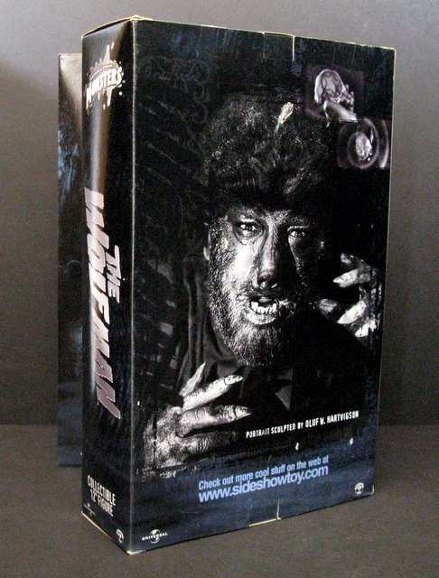 """THE WOLF MAN - DELUXE 12"""" FIGURE - Sideshow Toy, 2001 - - 3"""