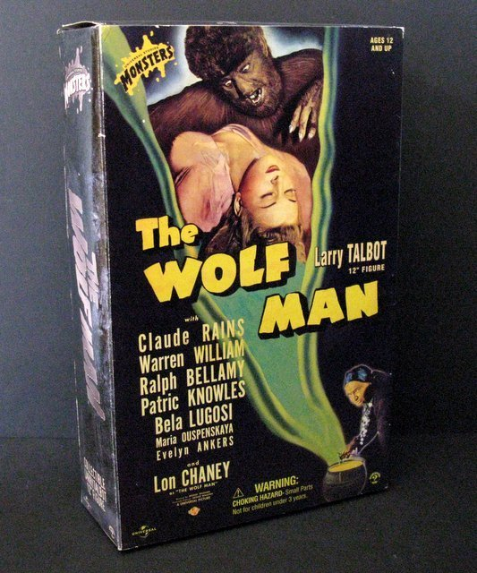 LON CHANEY, JR. as LARRY TALBOT - THE WOLF MAN - DELUXE