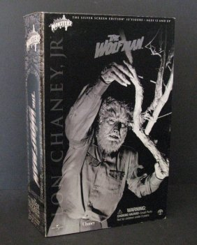 """The Wolf Man - Silver Screen Edition - Deluxe 12"""""""