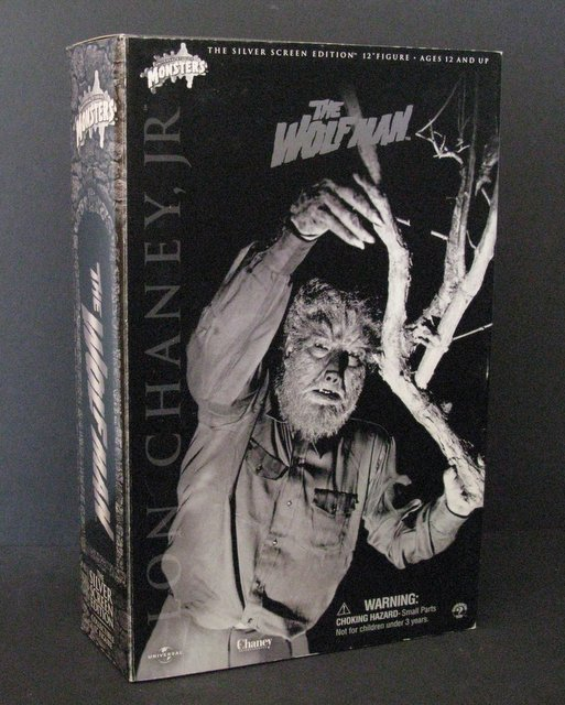 THE WOLF MAN - SILVER SCREEN EDITION - DELUXE 12""
