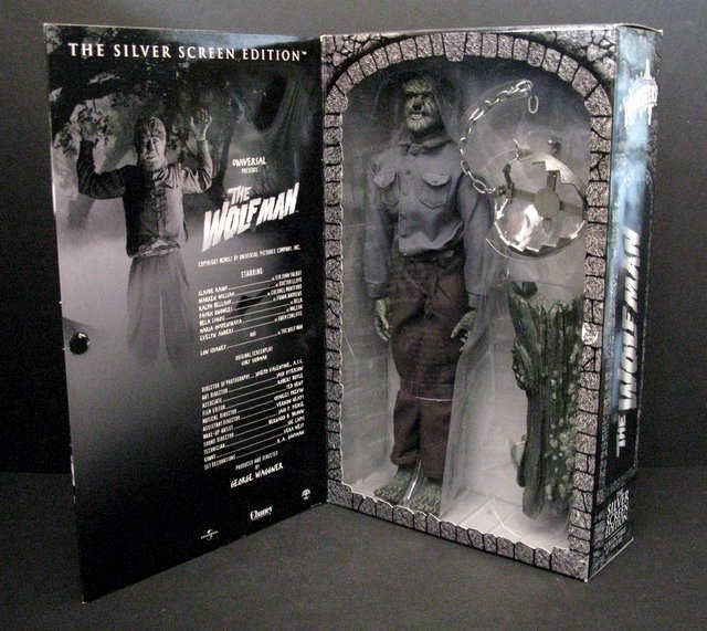 "THE WOLF MAN - SILVER SCREEN EDITION - DELUXE 12"" - 2"