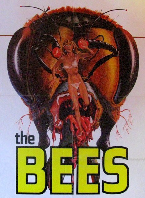 "THE BEES - 1978 - One Sheet Movie Poster - 27""x 41"" - - 2"