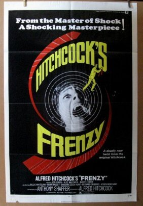 Alfred Hitchcock's Frenzy - 1972 - One Sheet Movie