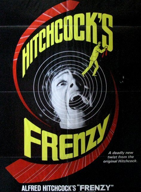 ALFRED HITCHCOCK'S FRENZY - 1972 - One Sheet Movie - 2