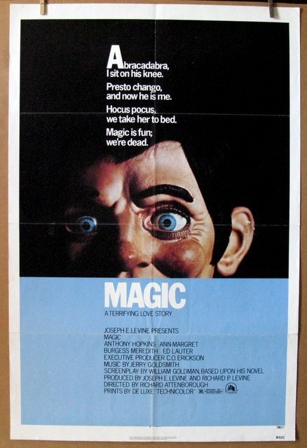 """MAGIC - 1978 - One Sheet Movie Poster - 27""""x 41"""" - NSS#"""
