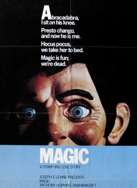 """MAGIC - 1978 - One Sheet Movie Poster - 27""""x 41"""" - NSS# - 2"""