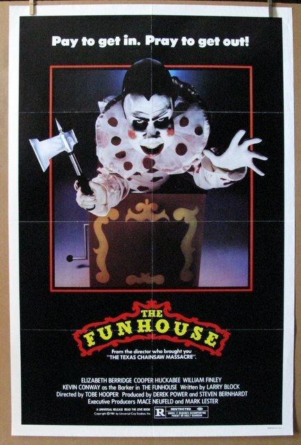 TOBE HOOPER'S THE FUN HOUSE - 1981 - One Sheet Movie